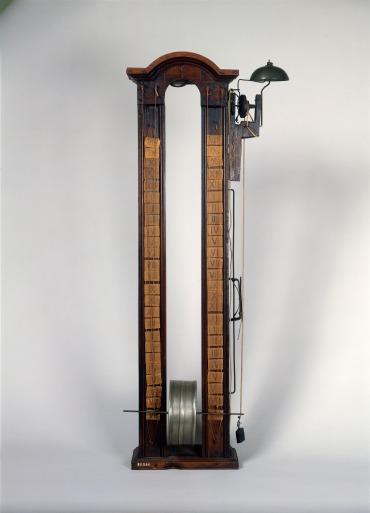 Clepsydre à tambour avec réveil, 1700-1800 Horlogerie / Horloge